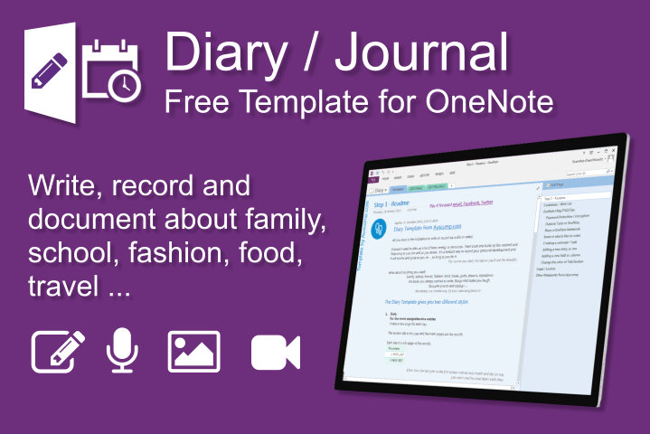 auscomp diary for onenote
