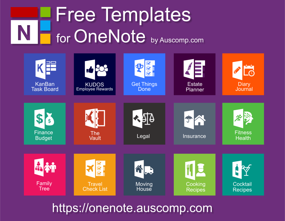 Using Onenote Try These Free Templates For Getting Things Done Gtd Intranet In A Box Kanban Task Board Travel Check List Diary Journal