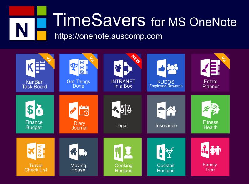 download free onenote templates  u0026 solutions  gtd  kanban