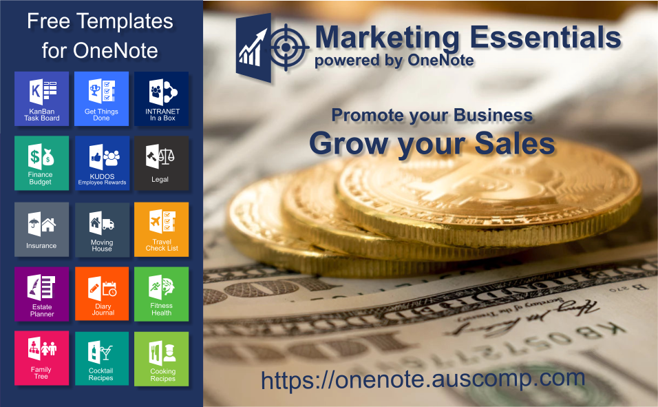 marketing essentials powered by onenote  promote your