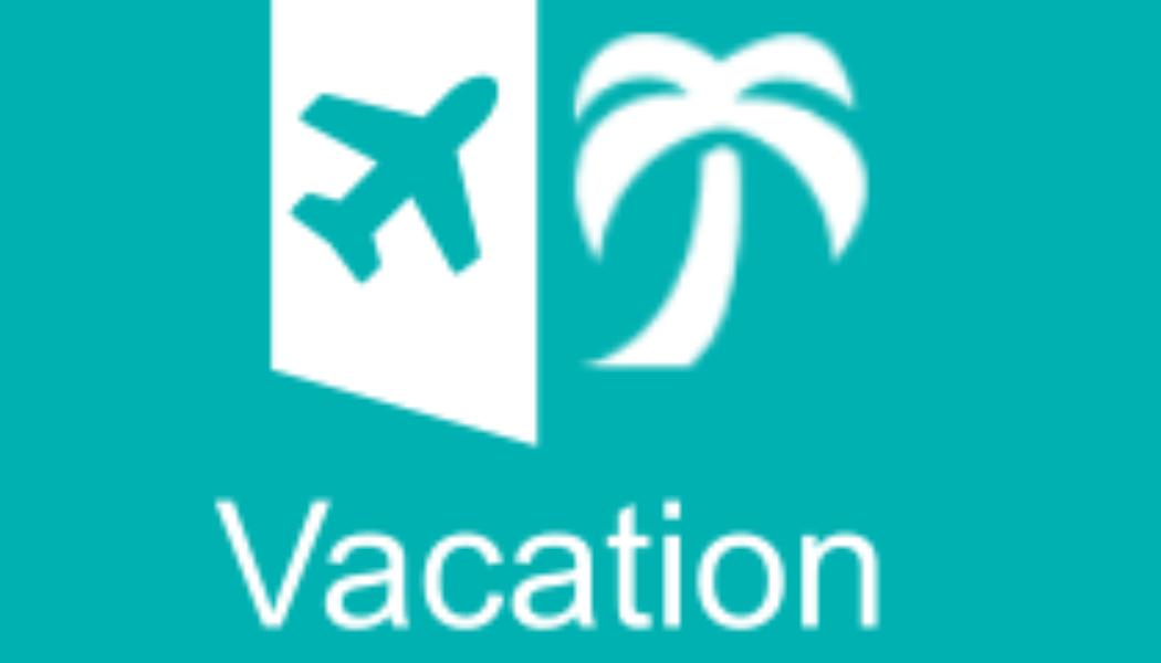 Vacation Organizer