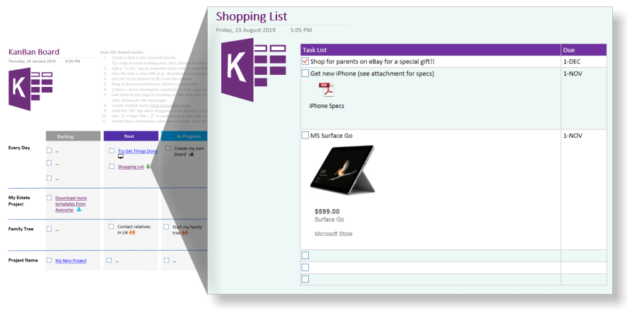 KanBan Task Board - Visualize your Tasks, To-Do's and
