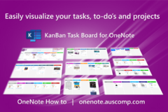 Easily visualize your tasks, to-do's and projects with a Kanban Board