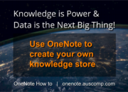 Knowledge is Power & Data is the Next Big Thing!